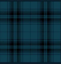 Blue and black tartan plaid scottish pattern vector
