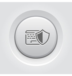 Data Protection Icon vector image