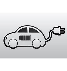 Electronic Car vector