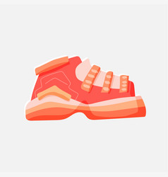 flat sport casual city vector image