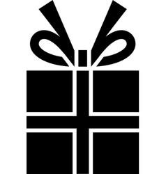 gift box gift box gift box icon vector image