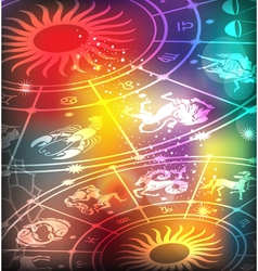 Horoscope background vector