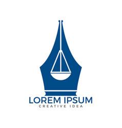 Law education logo vector