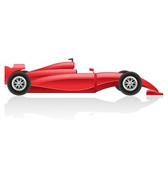 racing car 02 vector image