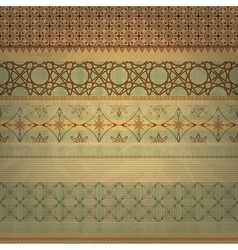 scrap template vintage vector image