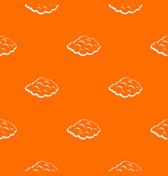 small cloud pattern seamless vector image