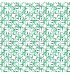 Leaf abstract geometric seamless pattern vector image