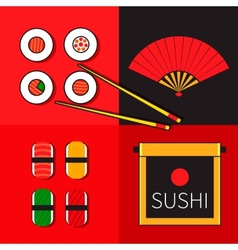 Japanese icon vector image vector image