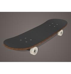 Stylized skateboard vector image vector image
