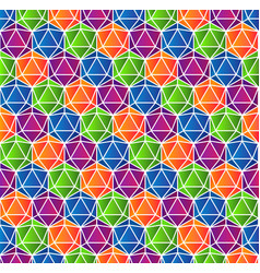 colorful crystal gradient background vector image