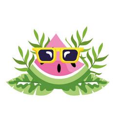 Delicious fruit cartoon vector