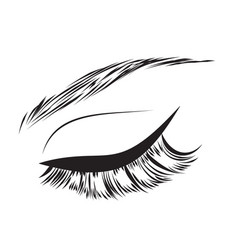 eyelash drawing vector images over 930