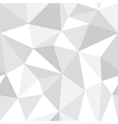 Seamless monochrome polygon pattern from triangles vector image vector image