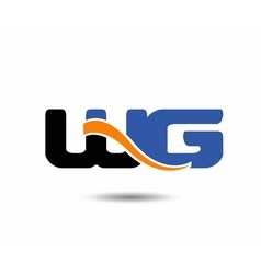 WG initial company group logo vector