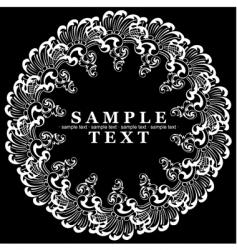 decorative vintage ornate banner illustrati vector image vector image