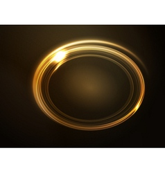 frame golden vector image