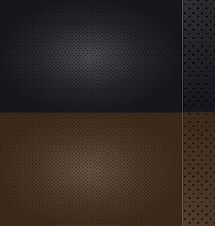 Automotive Leather set vector image vector image