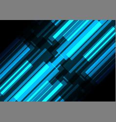 Blue bar overlap in dark background vector