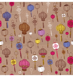 Classic Chinese new year background vector image