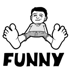 funny character vector image