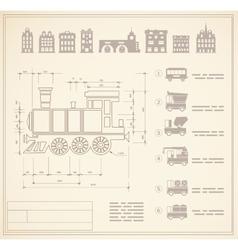 Locomotive engineers vector