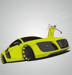 R8 car vector