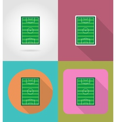 Sport flat icons 41 vector