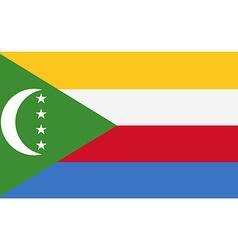 Flag of Comoros vector image