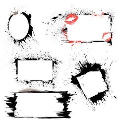 frames grunge 380 vector image vector image