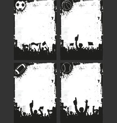 Sport Backgrounds vector image vector image