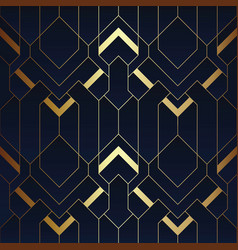 Abstract art deco seamless pattern 14 vector
