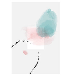 abstract minimalist poster set collection vector image