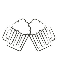 Beer jar icon image vector