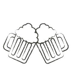 Beer jar icon image vector