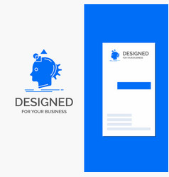 business logo for imagination imaginative imagine vector image