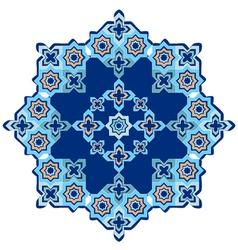 Circular islamic background vector