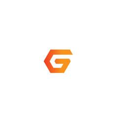 G initial company logo vector