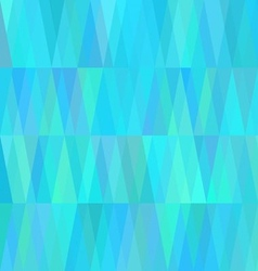 Geometric Cold Background in Shades of Sea Water vector image