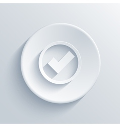 light circle icon Eps 10 vector image vector image