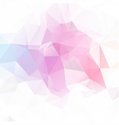 light color geometric rumpled triangular low poly vector image