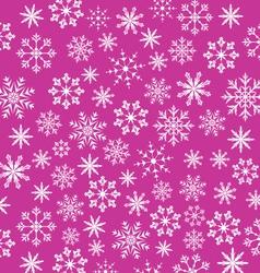 Noel pink wallpaper snowflakes texture - vector