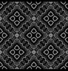 Seamless texture on black vector
