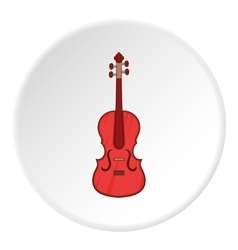 Cello icon cartoon style vector image vector image