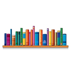 A set of different books vector image vector image
