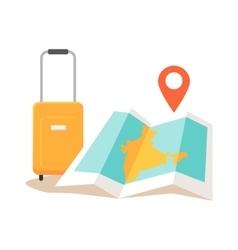 Travel india conceptual vector