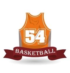 Basketball icon design vector image