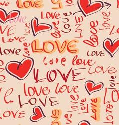 bezshov love vector image vector image