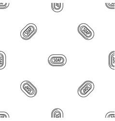 aloe soap pattern seamless vector image
