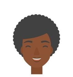 Cheerful woman experiencing euphoria vector image