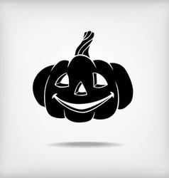Pumpkin black vector